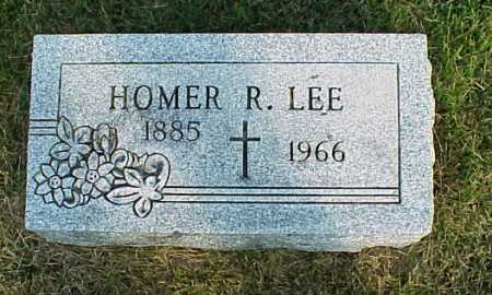 LEE, HOMER R. - Meigs County, Ohio | HOMER R. LEE - Ohio Gravestone Photos