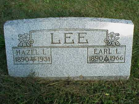 LEE, EARL L. - Meigs County, Ohio | EARL L. LEE - Ohio Gravestone Photos