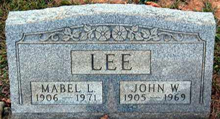 LEE, JOHN W. - Meigs County, Ohio | JOHN W. LEE - Ohio Gravestone Photos
