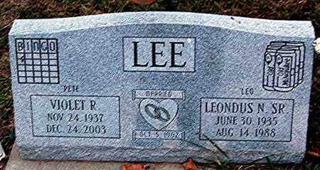 LEE, LEONDUS N. - Meigs County, Ohio | LEONDUS N. LEE - Ohio Gravestone Photos