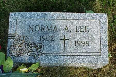 YOUNG LEE, NORMA ALTHEA - Meigs County, Ohio | NORMA ALTHEA YOUNG LEE - Ohio Gravestone Photos