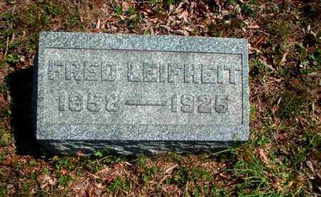 LEIFHEIT, FRED - Meigs County, Ohio | FRED LEIFHEIT - Ohio Gravestone Photos