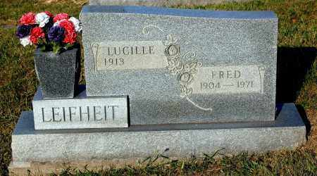 LEIFHEIT, FRED - Meigs County, Ohio | FRED LEIFHEIT - Ohio Gravestone Photos