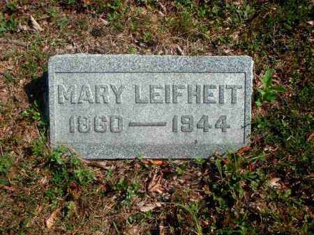 HETZEL LEIFHEIT, MARY - Meigs County, Ohio | MARY HETZEL LEIFHEIT - Ohio Gravestone Photos