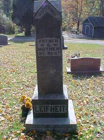 LEIFHEIT, MONUMENT - Meigs County, Ohio | MONUMENT LEIFHEIT - Ohio Gravestone Photos