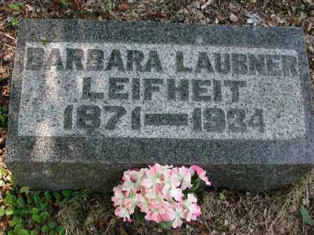 LEIGHEIT, BARBARA - Meigs County, Ohio | BARBARA LEIGHEIT - Ohio Gravestone Photos