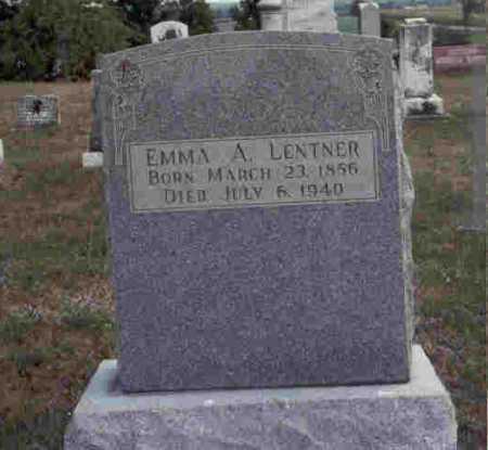 LENTNER, EMMA A. - Meigs County, Ohio   EMMA A. LENTNER - Ohio Gravestone Photos