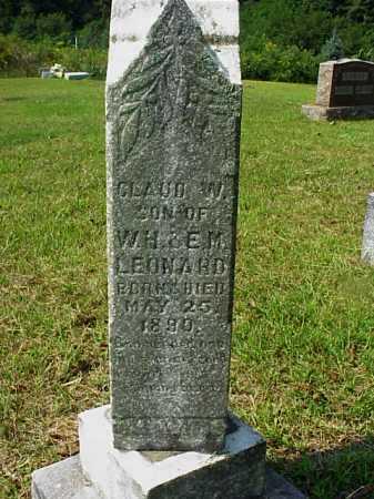 LEONARD, CLAUD W. - Meigs County, Ohio | CLAUD W. LEONARD - Ohio Gravestone Photos