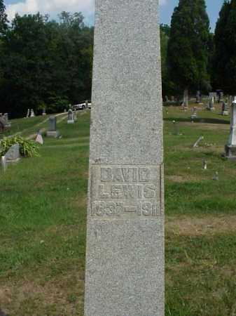LEWIS, DAVID - Meigs County, Ohio | DAVID LEWIS - Ohio Gravestone Photos