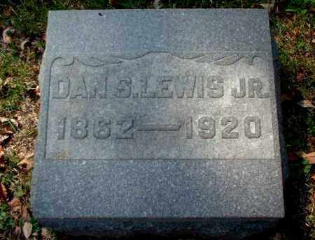 LEWIS, DAN S., JR. - Meigs County, Ohio | DAN S., JR. LEWIS - Ohio Gravestone Photos
