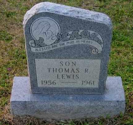 LEWIS, THOMAS R - Meigs County, Ohio | THOMAS R LEWIS - Ohio Gravestone Photos