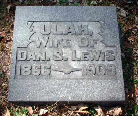 LEWIS, ULAH - Meigs County, Ohio | ULAH LEWIS - Ohio Gravestone Photos