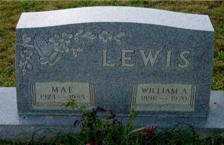 LEWIS, WILLIAM A. - Meigs County, Ohio | WILLIAM A. LEWIS - Ohio Gravestone Photos
