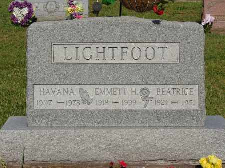 LIGHTFOOT, EMMETT H - Meigs County, Ohio | EMMETT H LIGHTFOOT - Ohio Gravestone Photos
