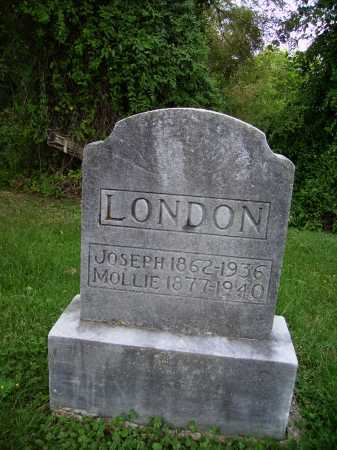 LONDON, MOLLIE - Meigs County, Ohio | MOLLIE LONDON - Ohio Gravestone Photos