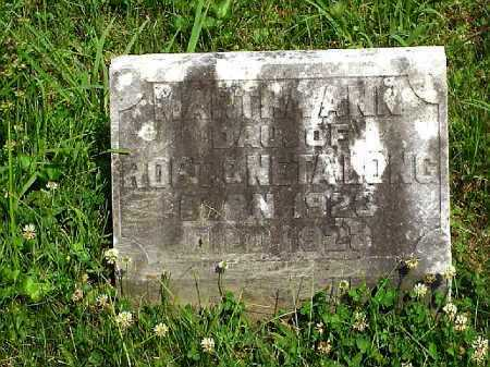 BRALEY, MARTHA ANN - Meigs County, Ohio | MARTHA ANN BRALEY - Ohio Gravestone Photos