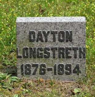 LONGSTRETH, DAYTON - Meigs County, Ohio | DAYTON LONGSTRETH - Ohio Gravestone Photos