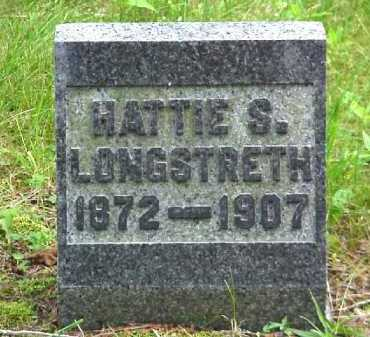 LONGSTRETH, HATTIE S. - Meigs County, Ohio | HATTIE S. LONGSTRETH - Ohio Gravestone Photos