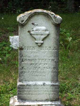 LONGSTRETH, JOHN ELZA - Meigs County, Ohio | JOHN ELZA LONGSTRETH - Ohio Gravestone Photos