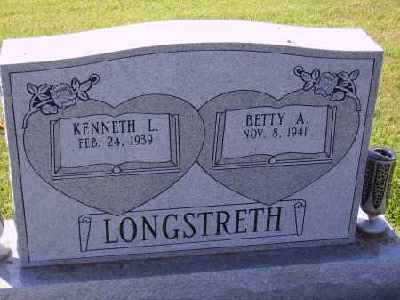 LONGSTRETH, BETTY A. - Meigs County, Ohio | BETTY A. LONGSTRETH - Ohio Gravestone Photos