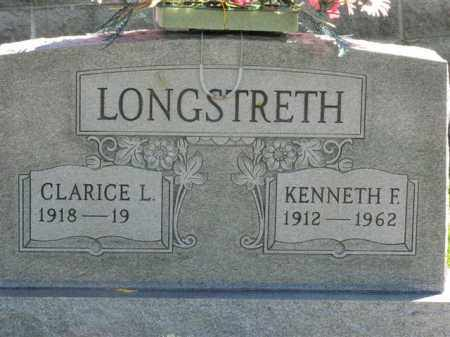 LONGSTRETH, CLARICE L. - Meigs County, Ohio | CLARICE L. LONGSTRETH - Ohio Gravestone Photos