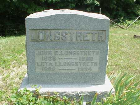 THOMAS LONGSTRETH, LETA I. - Meigs County, Ohio | LETA I. THOMAS LONGSTRETH - Ohio Gravestone Photos