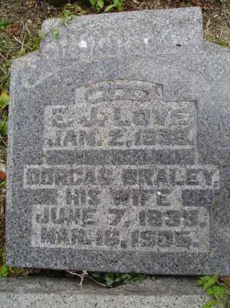 BRALEY LOVE, DORCAS - CLOSEVIEW - Meigs County, Ohio | DORCAS - CLOSEVIEW BRALEY LOVE - Ohio Gravestone Photos