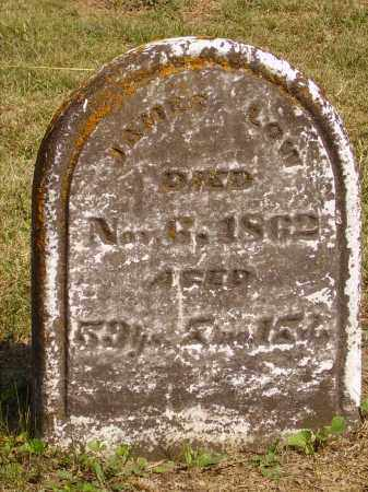 LOW, JAMES - Meigs County, Ohio | JAMES LOW - Ohio Gravestone Photos