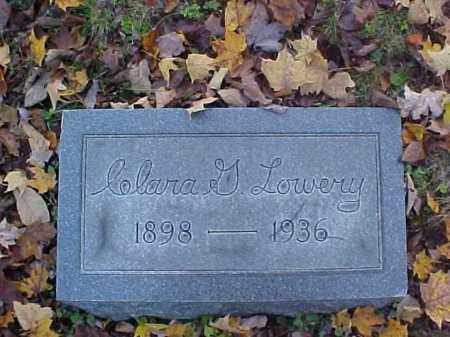 LOWERY, CLARA G. - Meigs County, Ohio | CLARA G. LOWERY - Ohio Gravestone Photos