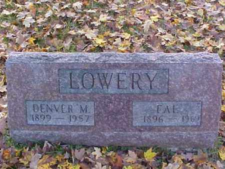 LOWERY, DENVER M. - Meigs County, Ohio | DENVER M. LOWERY - Ohio Gravestone Photos