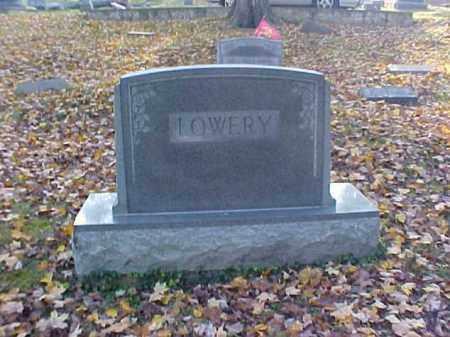 LOWERY, MONUMENT - Meigs County, Ohio | MONUMENT LOWERY - Ohio Gravestone Photos