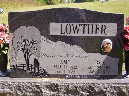 LOWTHER, AMY - FRONT - Meigs County, Ohio | AMY - FRONT LOWTHER - Ohio Gravestone Photos