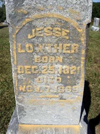 LOWTHER, JESSE - Meigs County, Ohio | JESSE LOWTHER - Ohio Gravestone Photos