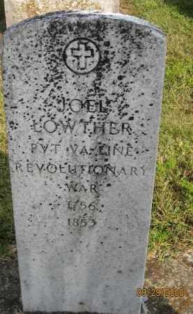 LOWTHER, JOEL - Meigs County, Ohio | JOEL LOWTHER - Ohio Gravestone Photos
