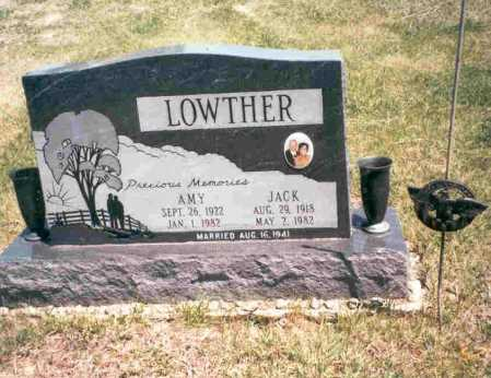 PERRY LOWTHER, AMY - Meigs County, Ohio | AMY PERRY LOWTHER - Ohio Gravestone Photos