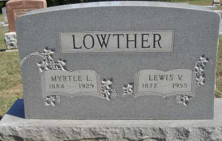 LOWTHER, LEWIS VINCENT - Meigs County, Ohio | LEWIS VINCENT LOWTHER - Ohio Gravestone Photos