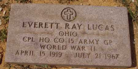 LUCAS, EVERETT RAY - MILITARY MARKER - Meigs County, Ohio | EVERETT RAY - MILITARY MARKER LUCAS - Ohio Gravestone Photos