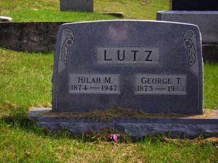 DAVIS LUTZ, HILAH M. - Meigs County, Ohio | HILAH M. DAVIS LUTZ - Ohio Gravestone Photos