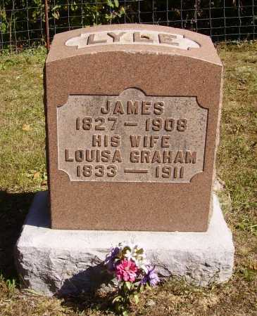 GRAHAM LYLE, LOUISA - Meigs County, Ohio | LOUISA GRAHAM LYLE - Ohio Gravestone Photos