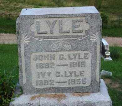 LYLE, JOHN C. - Meigs County, Ohio | JOHN C. LYLE - Ohio Gravestone Photos