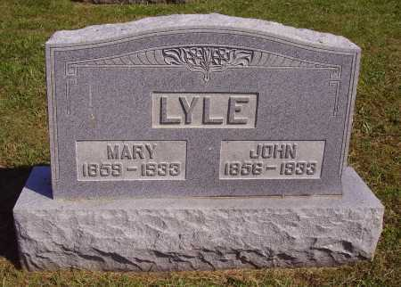 LYLE, JOHN H. - Meigs County, Ohio | JOHN H. LYLE - Ohio Gravestone Photos