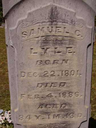 LYLE, SAMUEL C. - CLOSE VIEW - Meigs County, Ohio | SAMUEL C. - CLOSE VIEW LYLE - Ohio Gravestone Photos
