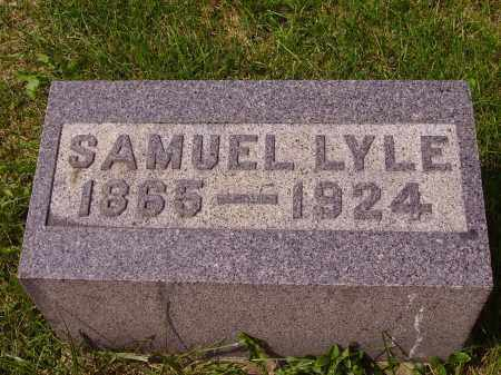LYLE, SAMUEL - Meigs County, Ohio | SAMUEL LYLE - Ohio Gravestone Photos