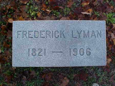 LYMAN, FREDERICK - Meigs County, Ohio | FREDERICK LYMAN - Ohio Gravestone Photos