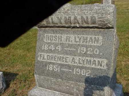 LYMAN, FLORENCE A. - Meigs County, Ohio | FLORENCE A. LYMAN - Ohio Gravestone Photos