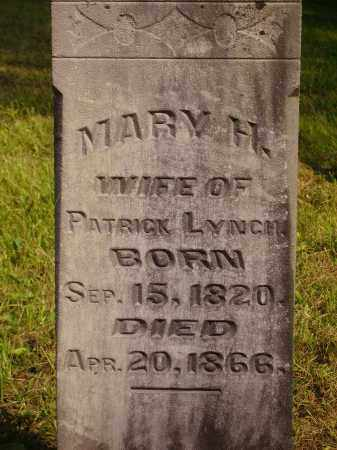 LYNCH, MARY H. - Meigs County, Ohio | MARY H. LYNCH - Ohio Gravestone Photos