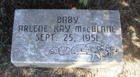 MACBLANE, ARLENE KAY - Meigs County, Ohio | ARLENE KAY MACBLANE - Ohio Gravestone Photos