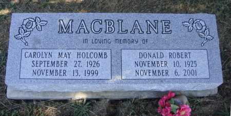 MACBLANE, DONALD ROBERT - Meigs County, Ohio | DONALD ROBERT MACBLANE - Ohio Gravestone Photos