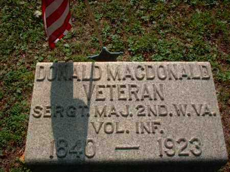 MACDONALD, DONALD - Meigs County, Ohio | DONALD MACDONALD - Ohio Gravestone Photos