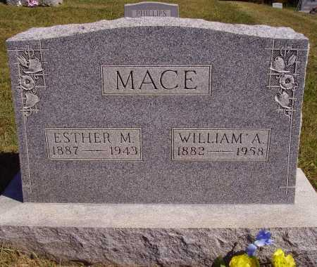 MACE, WILLIAM A. - Meigs County, Ohio | WILLIAM A. MACE - Ohio Gravestone Photos